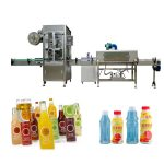 Pet Bottle Shrink Sleeve Labelling Machine med Shrink Tunnel / Steam Generator