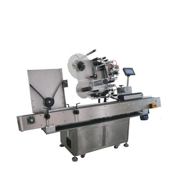 Farmaceutisk industri Hætteglas Mærkning Maskine