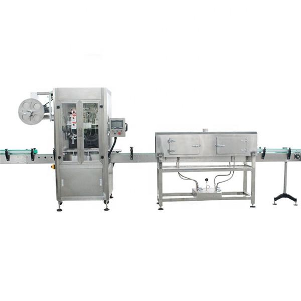 Plastic Cup High Speed Shrink Sleeve Labelling Machine med dampgenerator