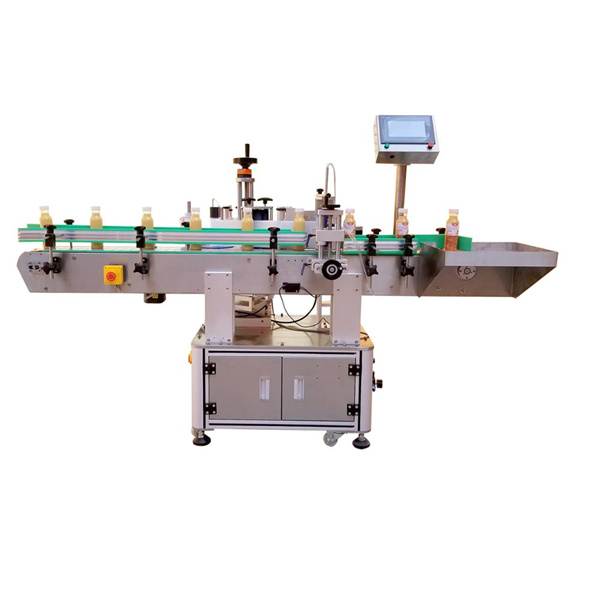 Professionel flaske klistermærke maskine
