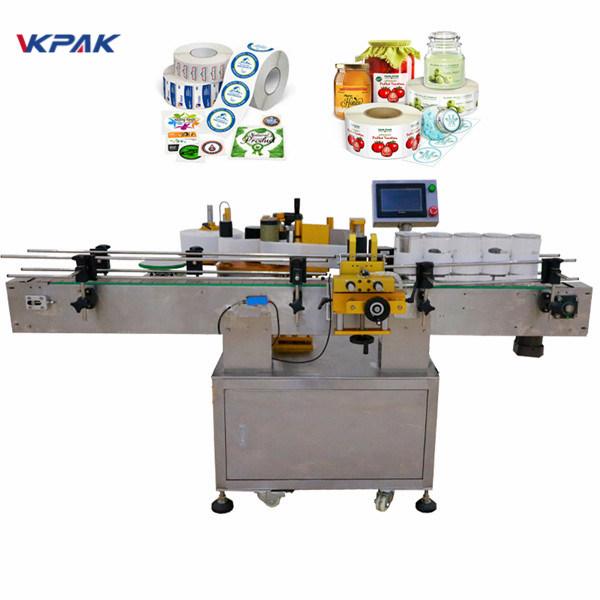 Selvklæbende automatisk mærkningsmaskine 15-140 mm etikethøjde CE-godkendelse