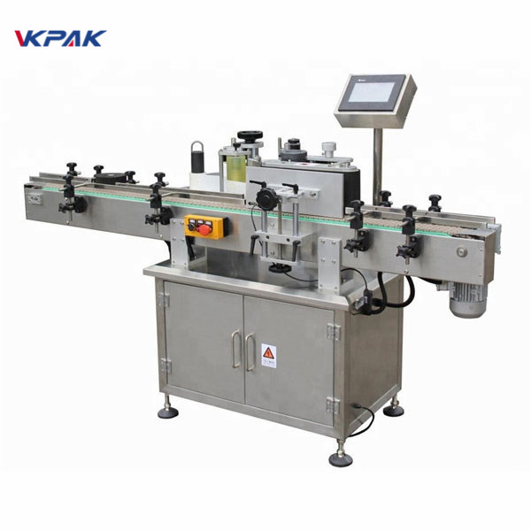 Selvklæbende etiketapplikator maskine til krukke High Speed Sticker