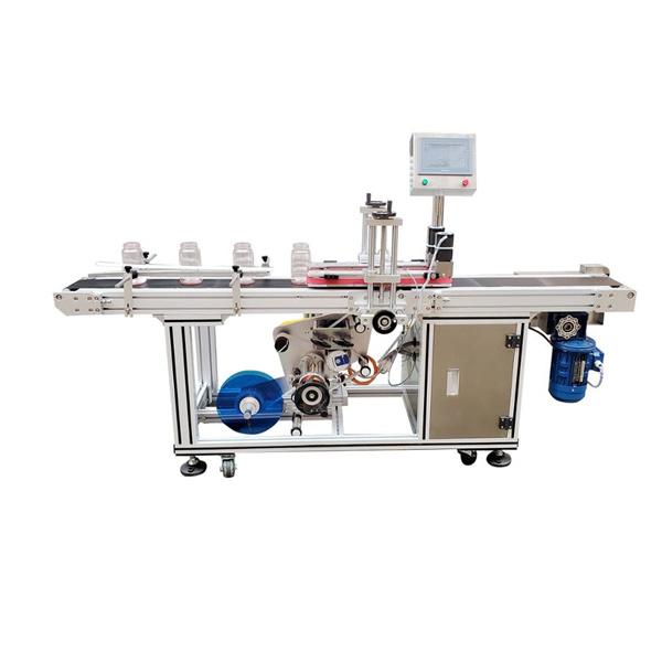 Selvklæbende klistermærke Nederste mærkningsmaskine Automatisk elektrisk drevet type