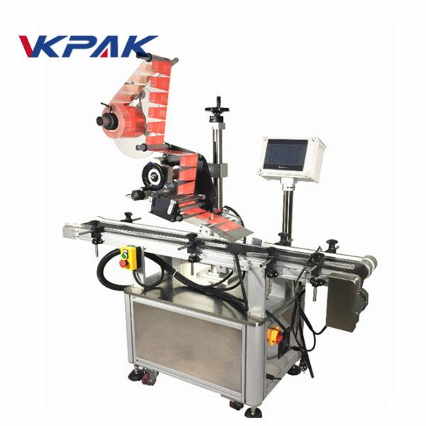 Selvklæbende topmærke maskine til krukke