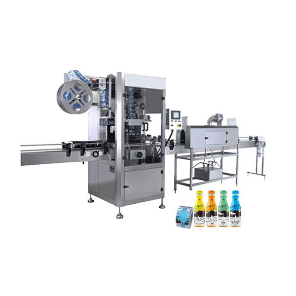 Anvendelsesmaskine til krympemuffe til vandflasker af plast 100 BPM