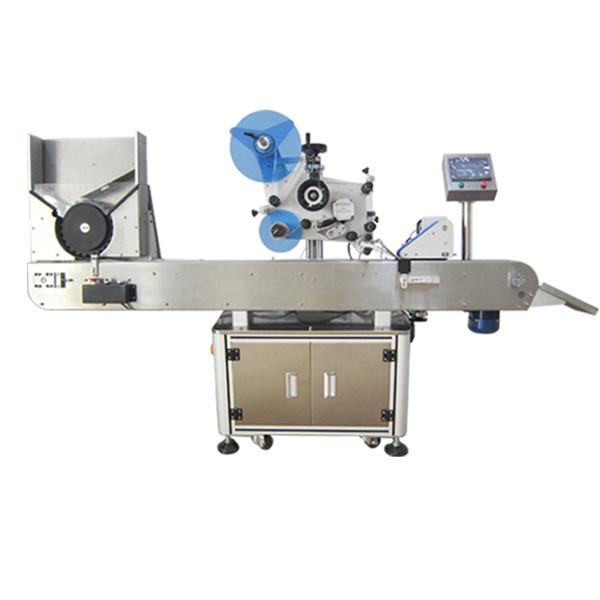 Sus304 rustfrit hætteglas mærkning maskine servomotor til oral væske