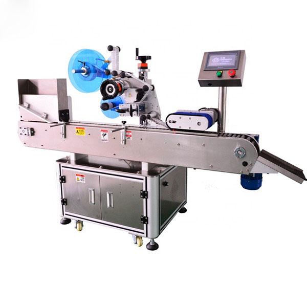 Mærke maskine til hætteglas med berøringsskærm med samling bord