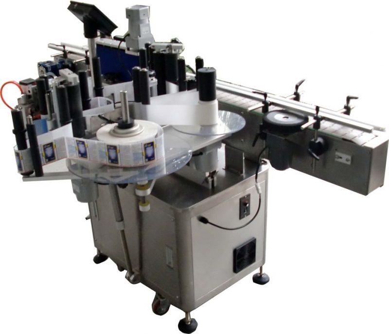 Kina Omron etiket lager elektrisk øje automatisk mærkning maskine kosmetik hætteglas mærkning leverandør