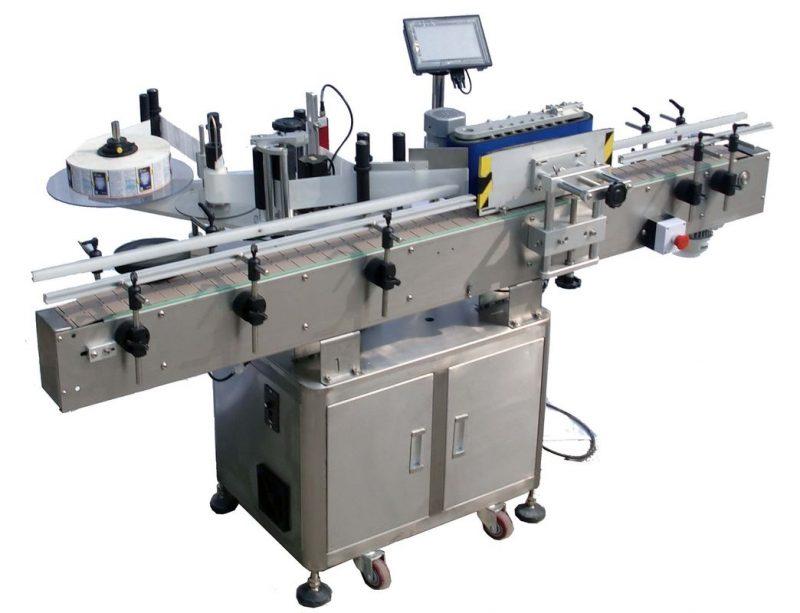 Kina Selvklæbende klistermærke rund flaske automatisk mærkning maskine 220V leverandør
