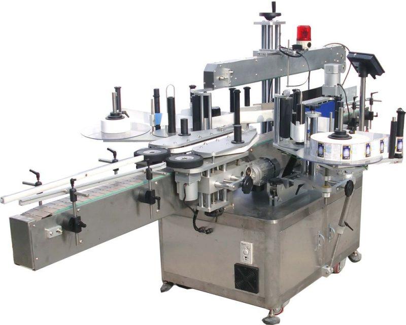Kina up-press mekanisme topflasker automatisk flaskemærkermaskine med CE-certifikatleverandør