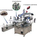 Højhastigheds servomotor selvklæbende mærkatmaskine