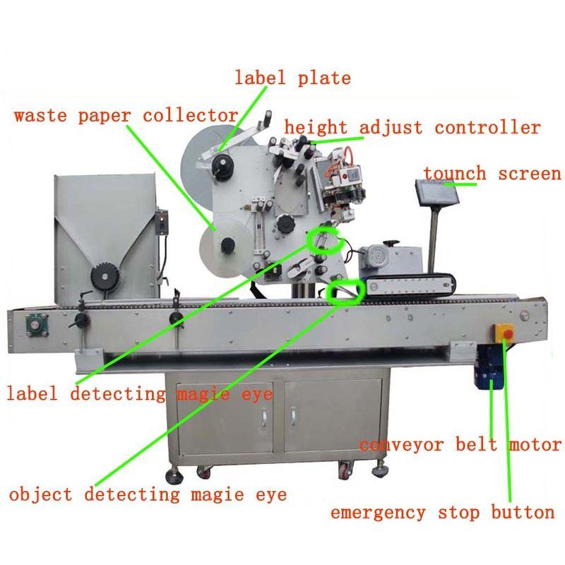 Kina Hg Haw 150 Fuld - Automatisk hætteglasmærkning Servomotor PLC-kontrolleverandør