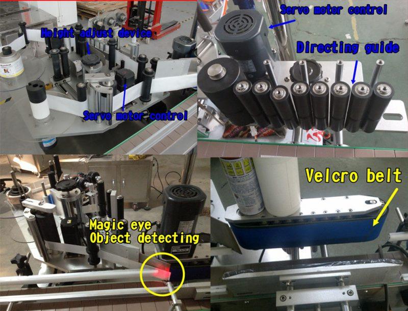 Kina Kosmetisk flaske klistermærke Rund flaske mærkning / selvklæbende mærkning maskine leverandør