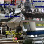 Kosmetisk flaskemærkat Rund flaskemærkning / selvklæbende mærkningsmaskine