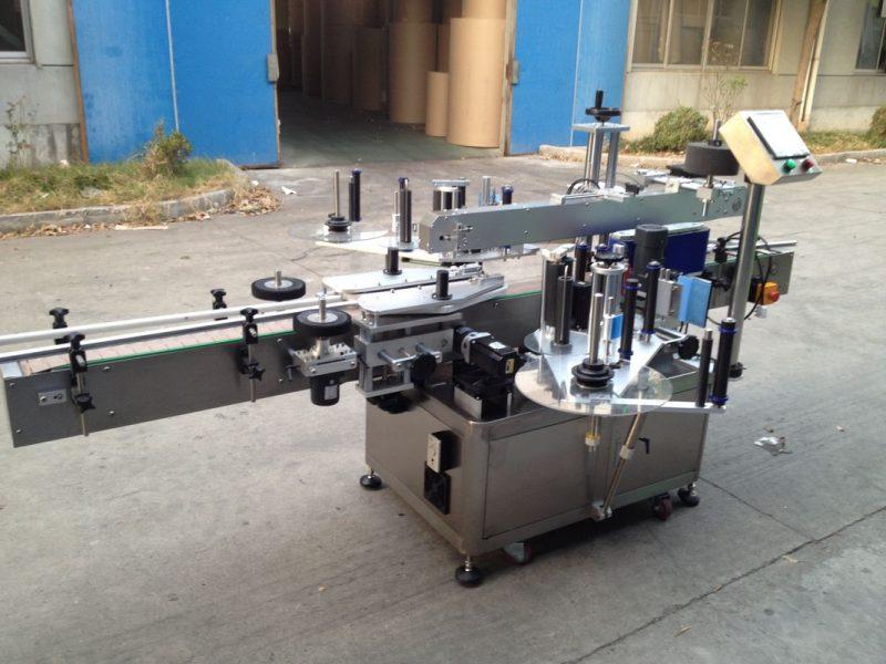 Kina trykflaske automatisk klistermærke applikator, 550 kg automatisk mærkning maskine leverandør