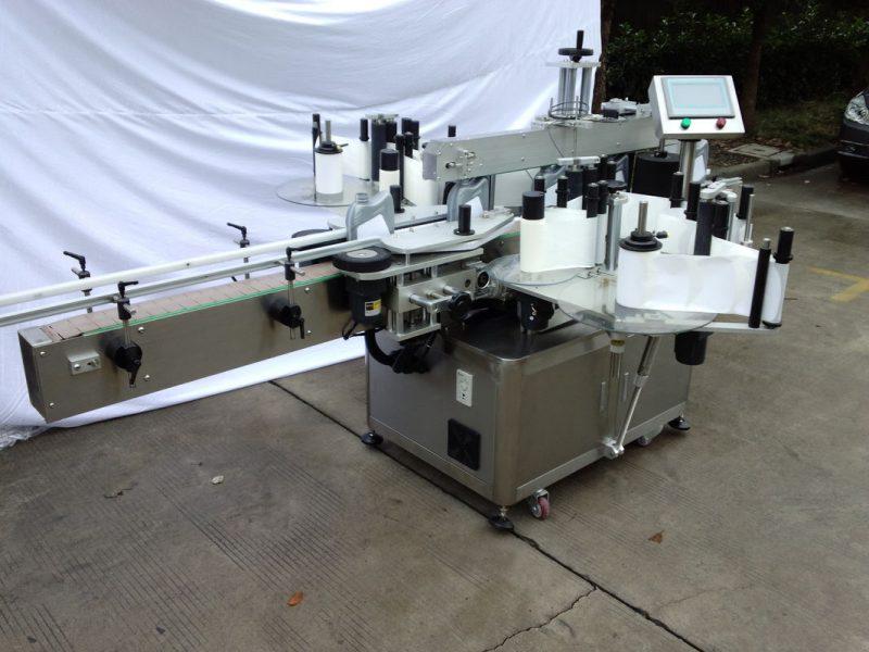 Kina tilpasset automatisk mærkning maskine / mærkning udstyr til selvklæbende klistermærke leverandør