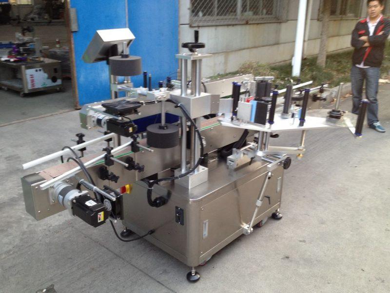 Kina Opp flaske automatisk klistermærke applikator maskine til høj hastighed hot melt lim leverandør