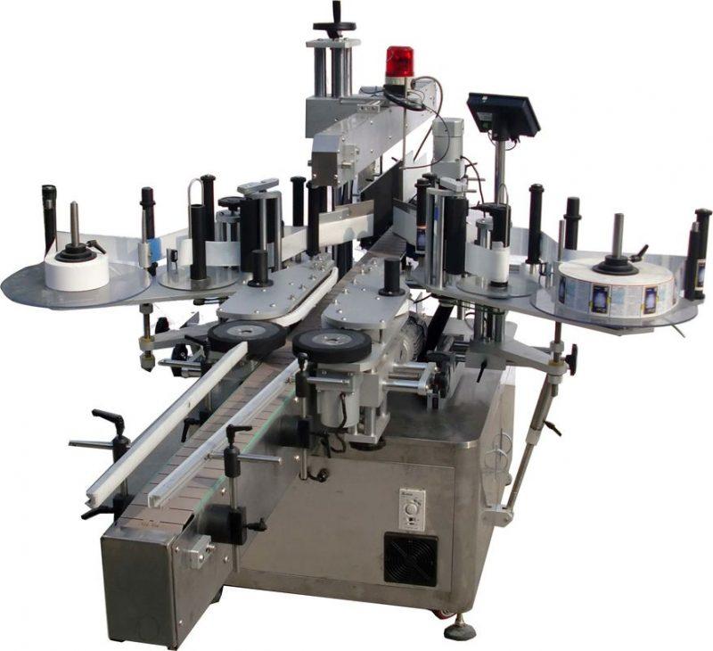 Kina flad overflade automatisk mærkning maskine til poser fabrik høj hastighed 60-350 stk / min leverandør