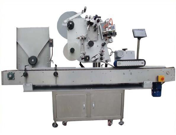 Kina rund opp mærkning maskine med kodemaskine, neglelak etiket klistermærke maskine til kosmetik leverandør