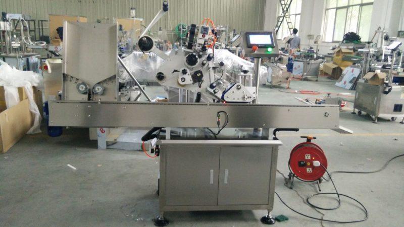 Kina Høj hastighed små runde dåser etiketklæbemaskine, øje sort flaske etiket klistermærke maskine til kosmetik leverandør