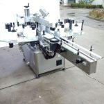 Automatisk tosidet mærkatmaskine med to sider med forsiden og bagsiden
