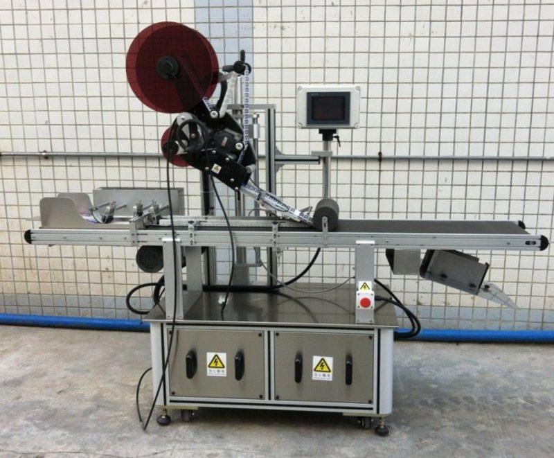 Kina Top mærkning maskine til maske / uudbredt karton / papirposer, flad overflademærketapplikator leverandør