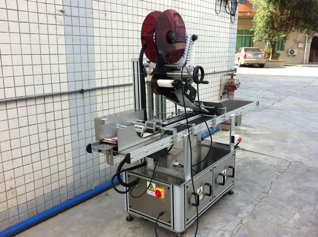 Elektrisk drev top mærkning maskine, selvklæbende klistermærke maskine