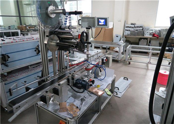 Kina 1-50m / min Speed Top Label Applicator-udstyr til flade overflader leverandør