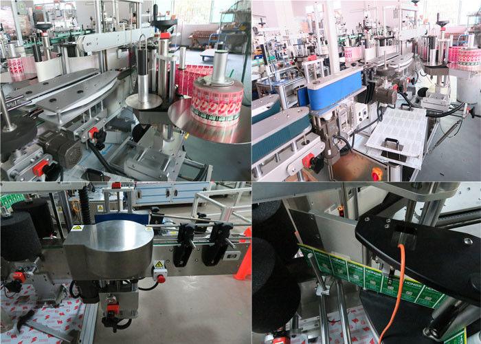 Daglige flasker mærkning maskine foran og bagpå, Jar mærkning maskine