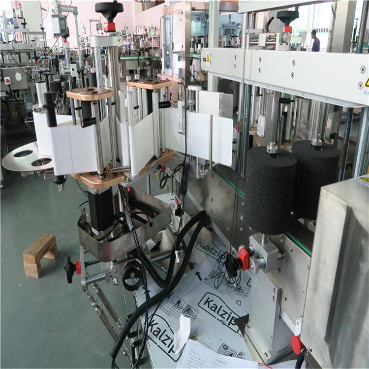 Kina Single / One Side High Speed Labelling Machine Automatic Flat Plastic Buke leverandør