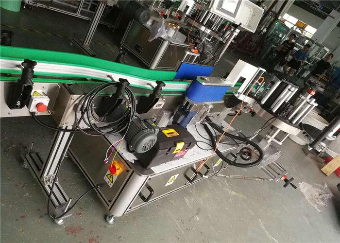 Kina ølflaskeetiketapplikator, automatisk etiketteringsmaskine 330mm rullediameter leverandør