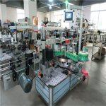Automatisk mærkatmærkatapplikator Firkantet flaskemærkningsmaskine