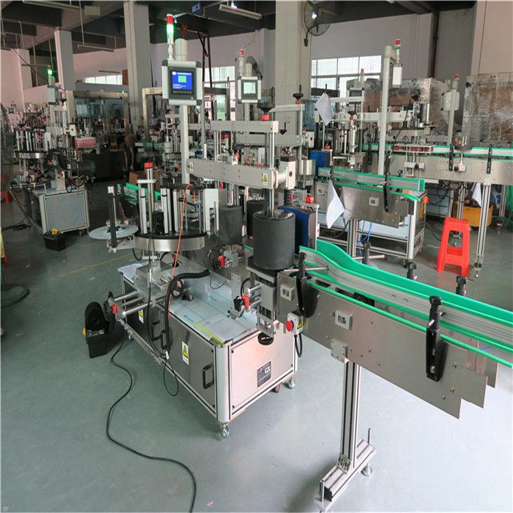 Kina Round Pet Bottle Labelling Machine, Automatic Label Applicator Machine Self-Adhesive Labeler leverandør