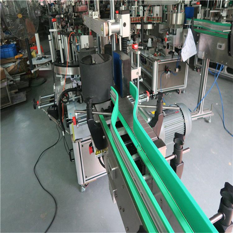 To automatiske mærkatmærkningsmaskiner Dobbeltsidet etiketter 6000-8000 B / H.