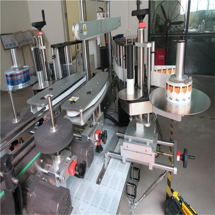 Kina Sticker Label Applicator, Single / Double Side Round Bottle Labelling Machine Machine leverandør