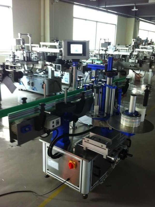 Kina fuldautomatisk mærkatmærkatapplikator, flaskemærkningsmaskine med CE-certificering leverandør