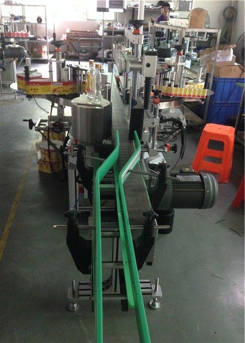 CE-mærkatapplikator, vinflaskemærkemaskine servomotorer kører