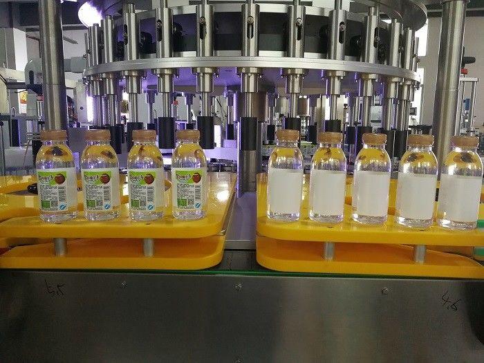 Kina Effektiv flaske roterende klistermærke mærkning maskine udstyr PLC berøringsskærm leverandør