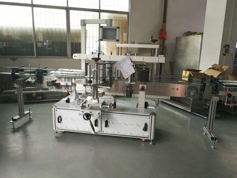 Kina Juice / Vinflaske Automatisk Sticker Mærkning Machine, Automatic Labeler Machine leverandør