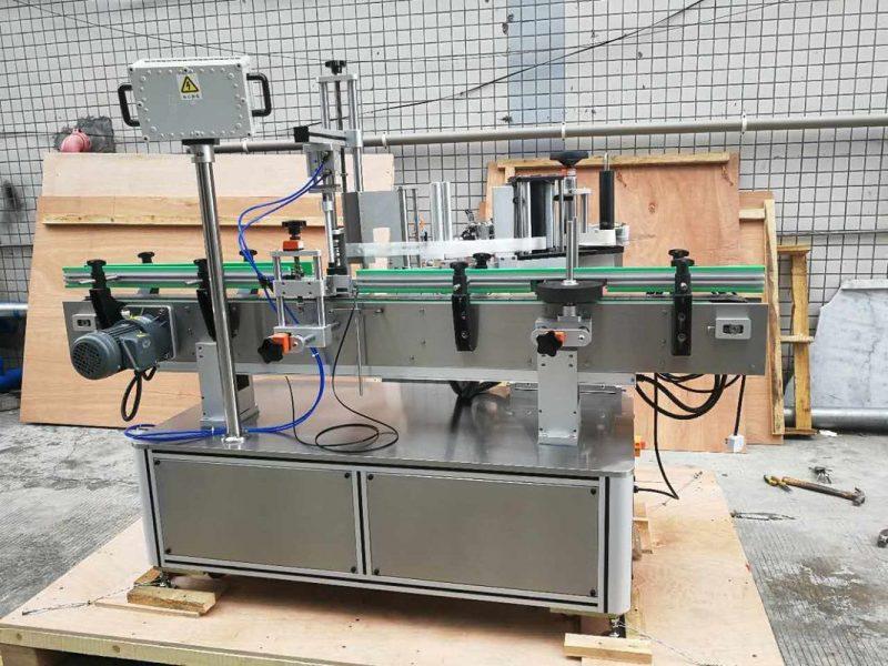 Kina Pawpaw / Guava Round Bottle Sticker Mærkningsmaskine til drikkefeltleverandør