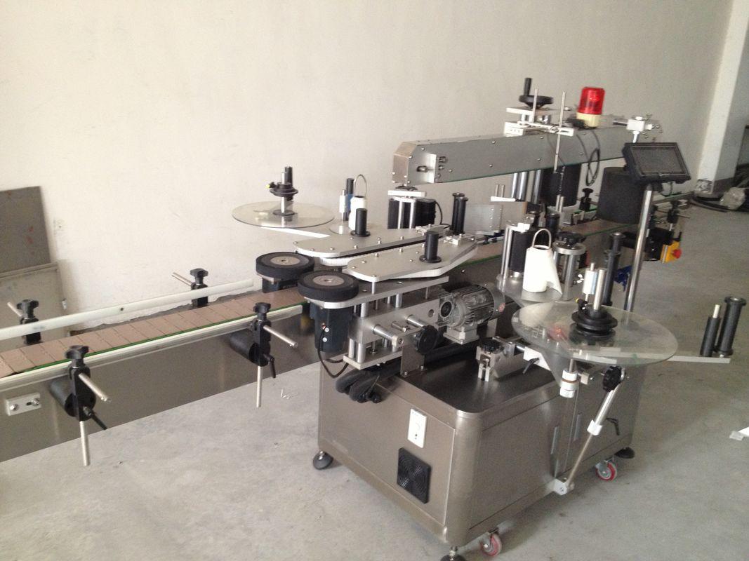 Automatisk ølflaske mærkningsmaskine til dobbelt side