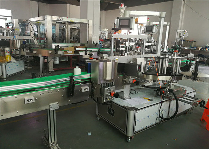 Kina Forside Bagside Oval flaske mærkning maskine To etiket applikator etiketteringsmaskine leverandør
