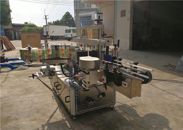 Kina CE fladeflaske mærkning maskine for- og bagside mærkning udstyr leverandør