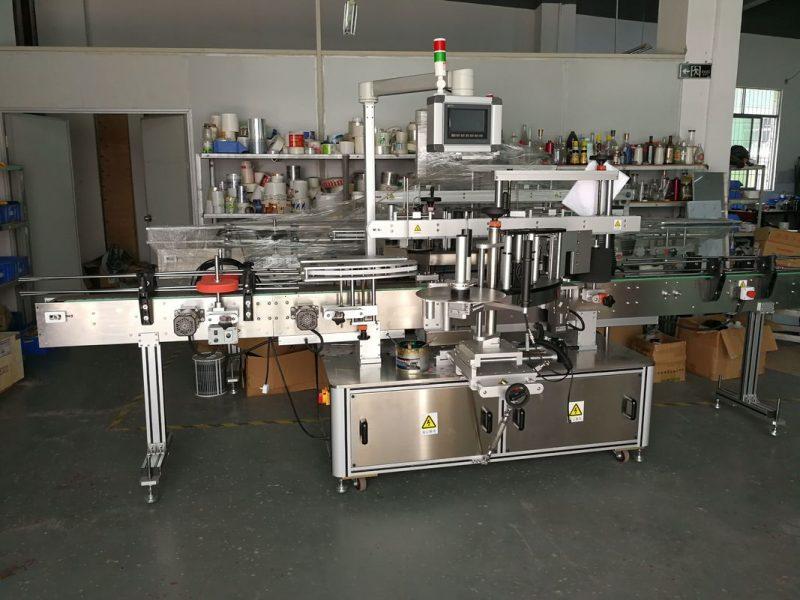 Kina Selvklæbende klistermærke Flat Bottle Labelling Machine High Speed 5000-1000B / H leverandør