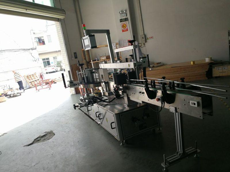 Kina dobbelt-ansigt rund flaske klistermærke maskine maskine, etiket bredde 190mm leverandør
