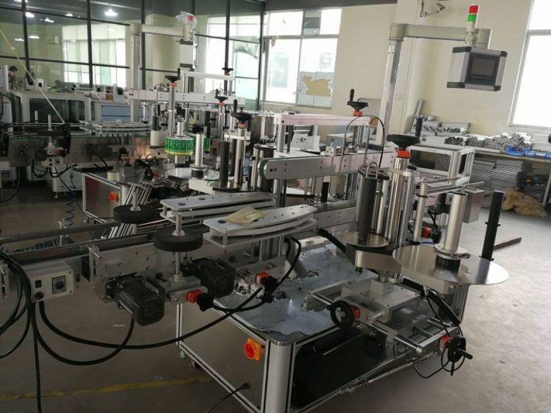 Kina High Speed Dual Corner Seal Labelling System til farmaceutiske kartoner leverandør