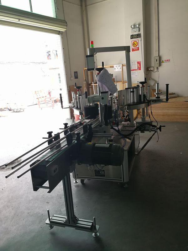 Kina mærkat foran og bag mærkning maskine på oval / rektangulær / firkantet / rund flaske leverandør
