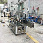 Klistermærke applikator maskine til mineralvand rund firkantet kegle