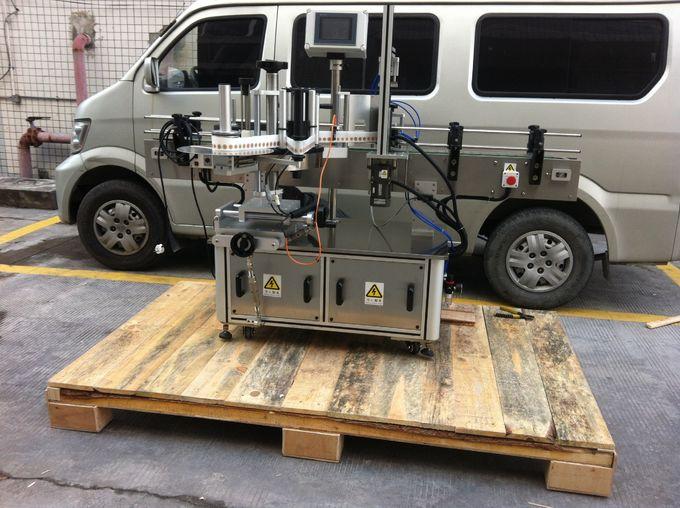Fuldautomatisk maskine til for- og bagside til runde krukke til kæledyr