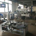 Fladeflaskemærkning maskine, automatisk etiket applikator maskine